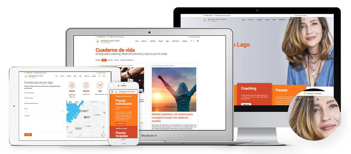 Página web Coaching Vigo